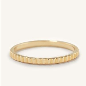 Mejuri : 14K Eternity Line Ring